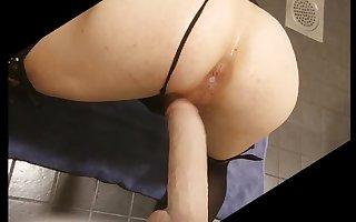 Doggystyling my dildo