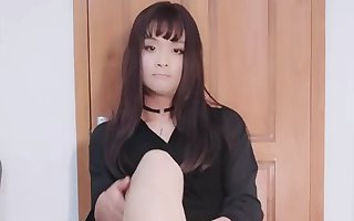 Chinese Crossdresser Emily